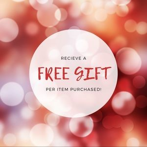 Free Gift With Every Item 🎁✨
